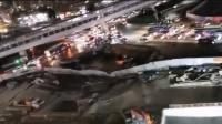 厦门发生地陷,大量积水涌进地铁,行车记录仪记录塌陷瞬间!