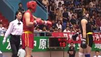 第十届全运会女子武术散打预赛 01单元 002 女子70kg 比赛