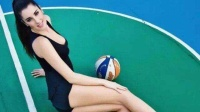 她是最美篮球运动员,绝世美颜不输模特【体育辣报】