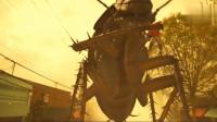 超级英雄的钢铁骷髅也惨了,被一只巨大的蟑螂窒息,可怕极了