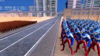 大海解说史诗战争模拟器:100个赛罗奥特曼VS1千个闪电侠,结果会如何?籽岷小本