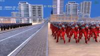 大海解说史诗战争模拟器:100个捷德奥特曼VS1千个灭霸,哪方能够获胜?籽岷小本