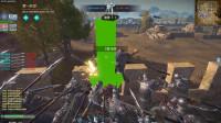 铁甲雄兵:小型城战张飞死守据点,但最终寡不敌众以失败告终