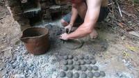 澳洲小哥 第51集 原始技术 用木灰新黏土制作陶器