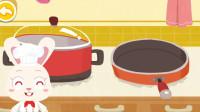 兔依依第一次当厨师 体验梦想职业 宝宝巴士游戏