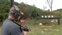 枪械百科:全自动步枪火力看一下,南瓜都被打成了筛子