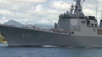 """韩国的军事力量到底如何?实拍海军""""世宗大王""""号驱逐舰!"""