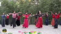 紫竹院广场舞《板蓝花儿开》,以情带舞,跳得真好!
