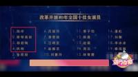90后第一人!周冬雨获改革开放40年全国十佳演员,李连杰吴京落选,女演员前四没有中国人