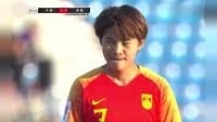 中国女C罗 王霜这一脚无解任意球 直接把中国队带入世界杯