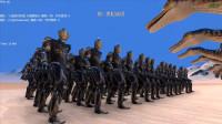 大海解说史诗战争模拟器:100个极恶贝利亚奥特曼VS1千头棘龙,结果会如何?籽岷小本五之歌大橙子方块学园