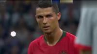 """世界杯回顾:C罗的""""死亡之瞳""""太恐怖了,成功打进任意球上演了帽子戏法,扳平比分!太刺激了"""