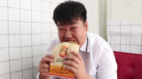 学霸王小九校园剧:老师请吃鸡排,吃货女同学一口吃完一整块鸡排!厉害