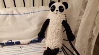 毛儿手作-钩针编织萌仔线小熊猫萌宠玩偶抱枕 新手教程