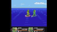猴子_爱儿双人实况解说《忍者神龟3:生存模式》:扭个头,眨眨眼