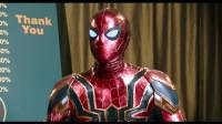 蜘蛛侠真是受欢迎,记者就差把话筒塞他嘴里了,太多了!
