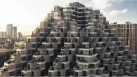 """中国""""金字塔""""大楼火了,邻居串门不用走楼梯,却被吐槽像公墓"""
