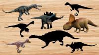 认识似鳄龙、原角龙等8种恐龙