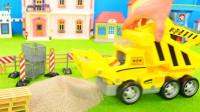 儿童益智玩具:狗狗汪汪队出动吊车  消防车
