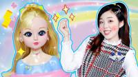 巴啦啦小魔仙之魔法造型屋!和化妆师莹莹一起变身公主吧!