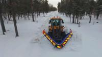 五花八门的除雪机械,一个比一个猛
