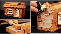 逐砖搭建微缩的迷你小屋,你想拥有吗?一起来见识下!