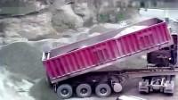 诡异事件:大货车的灵异一幕,被监控录下,至今未解