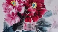 岫光小学美术社团——张红君老师及学生国画、素描作品展(1)