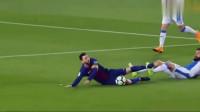今晨梅西任意球世界波彻底火了, 超级圆月弯刀斩打穿死角, 太厉害