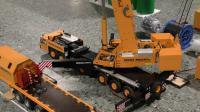 RC遥控起重机吊车施工