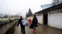 元旦前夕,我来到朋友支教的山区学校,江西大金竹民族学校