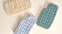 第2集手机壳编织教程  Aug创意编织DIY钩针毛线手工