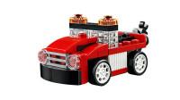 LEGO乐高积木玩具创意系列31055红色赛车套装速拼