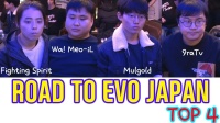 Road to Evo japan 2020  TOP 4