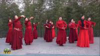 紫竹院广场舞《桥边姑娘》,花絮,每个人学的版本不同,还不成熟