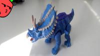 260模玩分享探索频道恐龙时代三角龙
