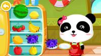 天硕在玩宝宝甜品店的游戏