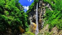 【原创】鹅嫚沟 国家森林公园官鹅沟的一处景点 峡谷瀑布引人入胜