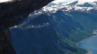 """攀岩爱好者的极限挑战,被称之为""""巨人之舌"""",你敢去吗?"""