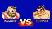 街头霸王2,桑吉尔夫面对相扑本田,毫对不留情面
