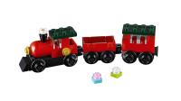 LEGO乐高积木玩具创意系列30543圣诞小火车套装速拼