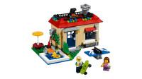 LEGO乐高积木玩具创意系列31067池畔假日套装速拼