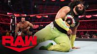 【RAW 01/06】麦金泰尔暴虐无敌荷西 确定参加王室决战大赛的上绳赛