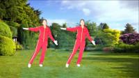 河口轻舞飞扬健身操第十八套教学演示