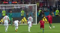 世界杯经典对决:C罗任意球绝平西班牙