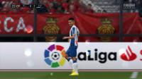 FIFA20球员生涯15:玉宁首发,西班牙人雨战马洛卡 淡水解说