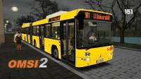 巴士模拟2 下次一定 LandkreisBonningen 901路 沃尔沃7700A FL