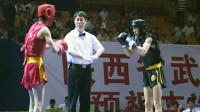 第十届全运会男子武术散打预赛 05单元 001 男子50kg 王二雷(新疆)VS 吴伟(山东)1:2