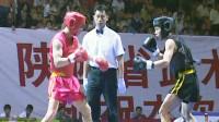 第十届全运会男子武术散打预赛 05单元 002 男子50kg 刘永海(重庆)VS 杨攀(青海)2:1