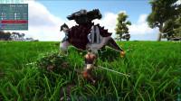 幽冥:方舟生存进化火山岛生存第二期带回一只炮弹龟